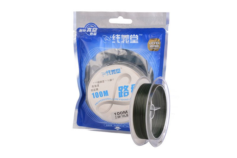 100M 100% Coplymer Monofilament Fishing Line