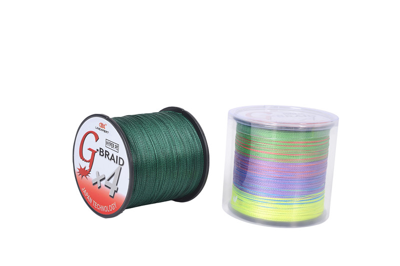 Linexpert Brand 500M(1000M) PE Dyneema Monofilament Braided Sea Fishing Line