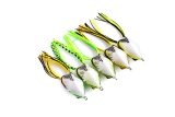 soft plastic fishing lures frog lure with hooks top water ray artificial fish tackle