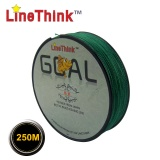 Linethink Brand 250M 100% PE Braided Fishing Line