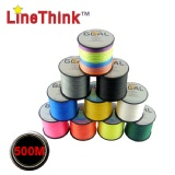 Linethink Brand 500M 100% PE Braided Fishing Line