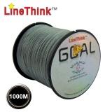 Linethink Brand 1000M 100% PE Braided Fishing Line