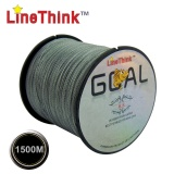 Linethink Brand 1500M 100% PE Braided Fishing Line