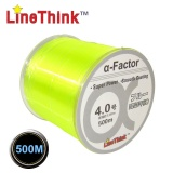 0.370mm Diameter 500M Colorful Nylon Monofilament Fishing Line Spool Beading String By Linethink Brand A-FCTOR