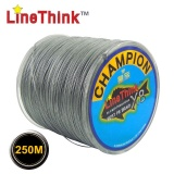 250M GHAMPION LineThink Brand 8Strands Multifilament PE Braided Fishing Line