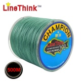 500M GHAMPION LineThink Brand 8Strands Multifilament PE Braided Fishing Line